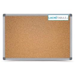 Korková tabuľa v hliníkovom ráme CLASSIC (120x90 cm)