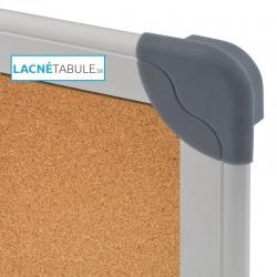 Korková tabuľa v hliníkovom ráme FUTURE (90x60 cm)