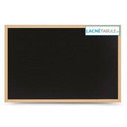 Kriedová tabuľa v drevenom ráme WOOD (80x60 cm)