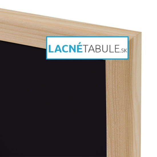 Kriedová tabuľa v drevenom ráme WOOD (30x40 cm)