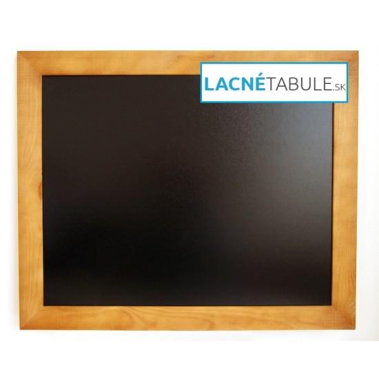 Kriedová tabuľa v drevenom ráme WOOD (70x50 cm)