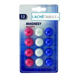 Magnety farebné mix 20mm - 12ks