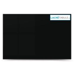 Sklenená magneticko suchostierateľná tabuľa - čierna GLASS (60x40 cm)