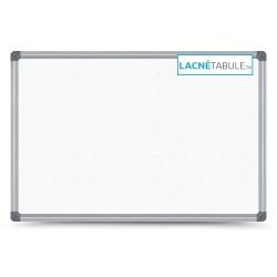 Magnetická tabuľa v hliníkovom ráme s potlačou - bodky 5x5 cm (60x40 cm)