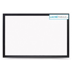 Magnetická tabuľa v dekoratívnom ráme - čierny (60x40 cm)