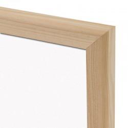 Magnetická tabuľa v drevenom ráme WOOD (90x60 cm)