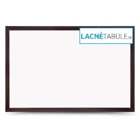 Magnetická tabuľa v dekoratívnom ráme - mahagónový (60x40 cm)