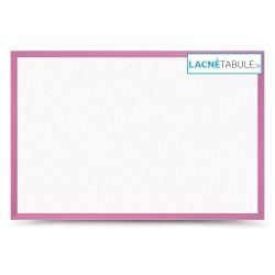 Magnetická tabuľa v drevenom ráme - ružová WOOD (60x40 cm)