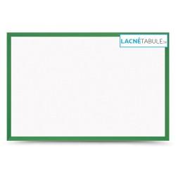 Magnetická tabuľa v drevenom ráme - zelená WOOD (60x40 cm)
