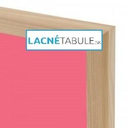 Magnetická tabuľa farebná v drevenom ráme - modrá WOOD (30x40 cm)