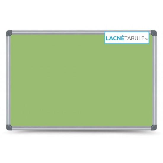 Magnetická tabuľa farebná v hliníkovom ráme - zelená CLASSIC (30x40 cm)