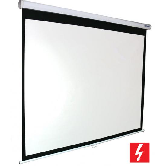 Premietacie plátno BUENO screen ELECTRIC formát 4:3, 16:9 (240x180 cm)