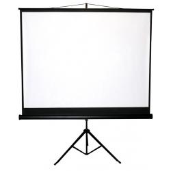 Premietacie plátno BUENO screen TRIPOD formát 1:1, 4:3, 16:9 (150x150 cm)