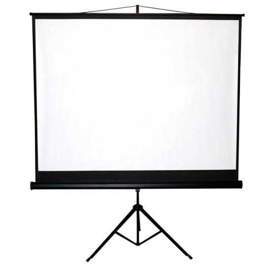 Premietacie plátno BUENO screen TRIPOD formát 1:1, 4:3, 16:9 (175x175 cm)